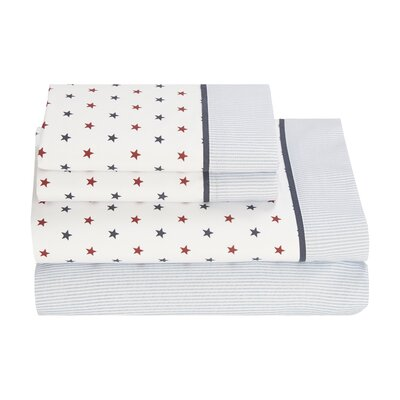 Union Stars 180 Thread Count Sheet Set Size: Full