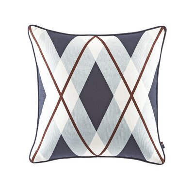 Buckaroo Oversized Argyle Cotton Throw Pillow
