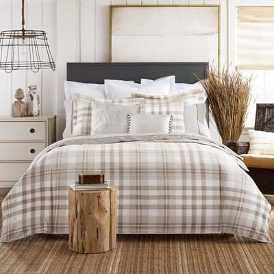 3-Piece Range Plaid Comforter Set by Tommy Hilfiger Size: King