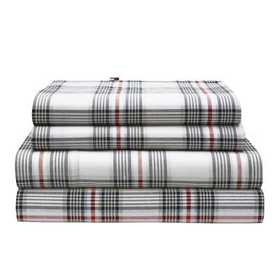 Evening Plaid Sheet Set Size: Queen