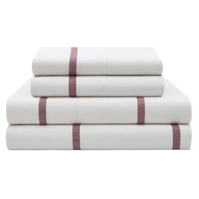Sutton Stripe Sheet Set by Tommy Hilfiger Size: Queen