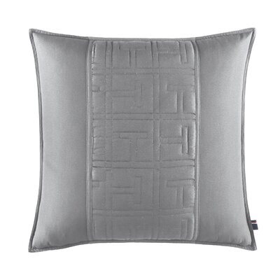 TH Academy Decorative Cotton Throw Pillow Color: Gray