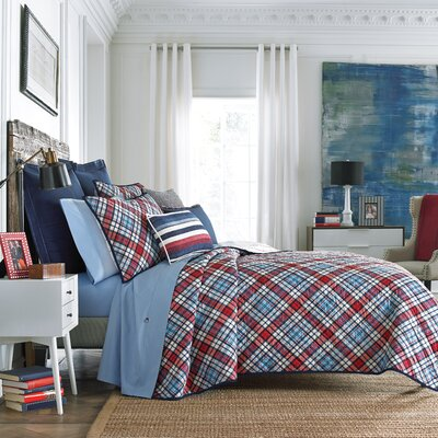 Edgartown Plaid Quilt Size: Twin