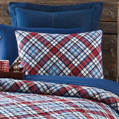 Edgartown Plaid Sham
