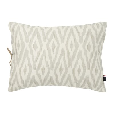 Mission Paisley Cordillera Ikat Cotton Lumbar Pillow
