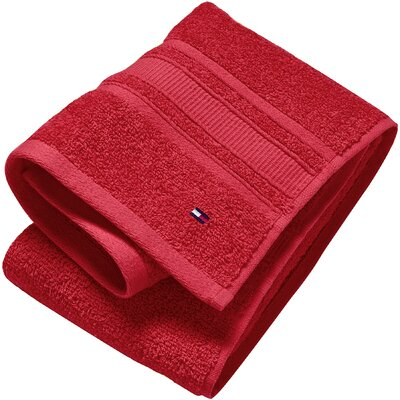 Hand Towel (Set of 6) Color: Tango Red