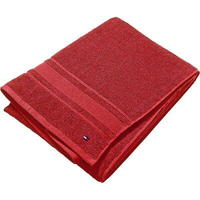 Bath Towel (Set of 6) Color: Tango Red