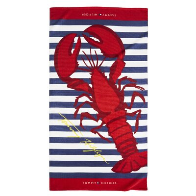 Atlantic Lobster Beach Towel