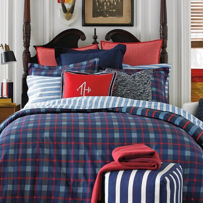 Boston Plaid Comforter and Sham