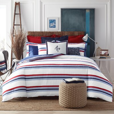 Edgartown Stripe Comforter Set Size: Full/Queen