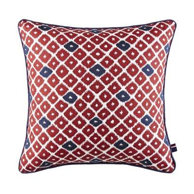 Ellis Island Ikat 100% Cotton Throw Pillow