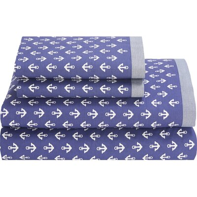 Mystic 180 TC Sheet Set by Tommy Hilfiger Size: Extra-Long Twin
