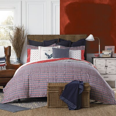 Timeless Plaid Comforter Set Size: Full/Queen