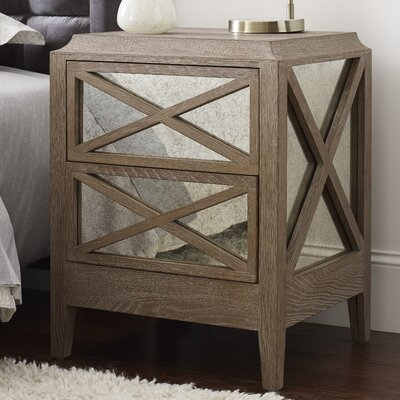 Ludo 2 Drawer Nightstand
