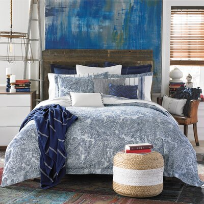Canyon Paisley Duvet Cover Set Size: King