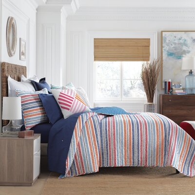 Paradise Stripe Quilt Size: Full/Queen