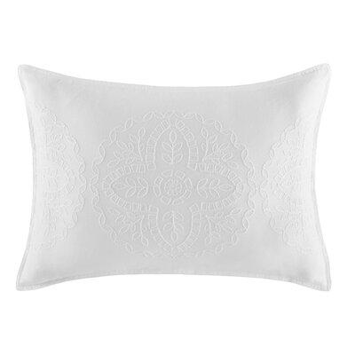 Floral Medallion 100% Cotton Lumbar Pillow