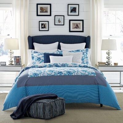 Camden Floral Reversible Comforter Set Size: Full/Queen