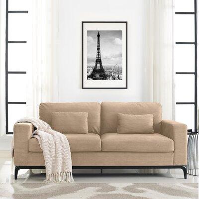 Austin Standard Sofa Upholstery: Cream