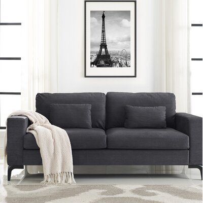 Austin Standard Sofa Upholstery: Dark September Gray