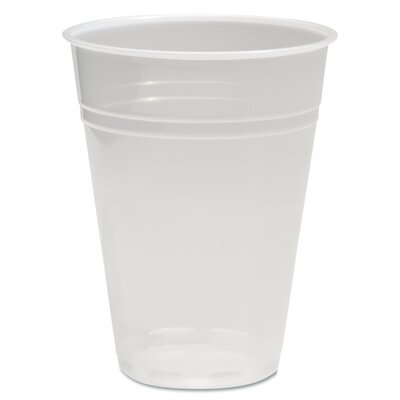 "Translucent Plastic Hot/Cold Cups, (Carton of 2,500) Size: 21.56"" H x 12.81"" W x 19.63"" D BWKTRANSCUP9CT"