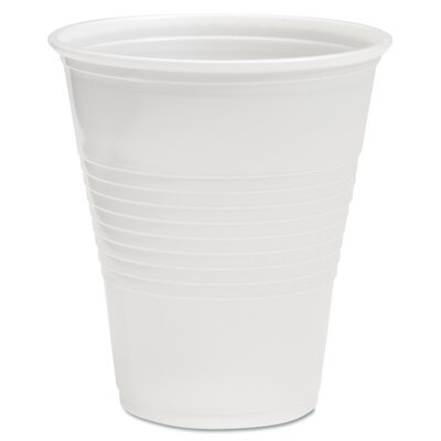 "1 oz. Translucent Plastic Hot/Cold Cups (Pack of 50) (Set of 2) Size: 13.38"" H x 3.75"" W x 3.75"" W BWKTRANSCUP12PK"