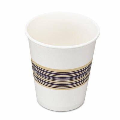 Boardwalk Paper Hot Cups, 8oz, Blue/Tan, 50/Bag, 20 Bags/Carton BWK8HOTCUP