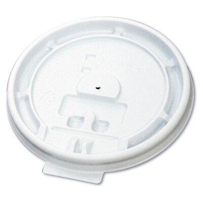 Hot Cup Tear-Tab Lid in White BWK1020TABLID