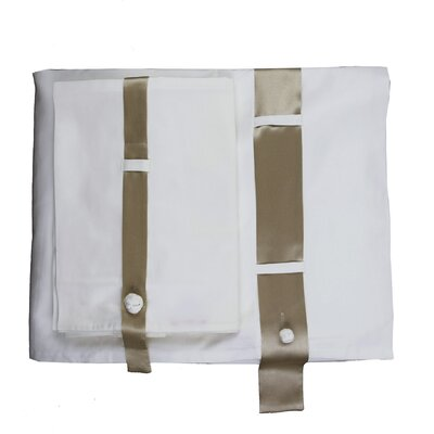 Silk Band Thread Count Sheet Set