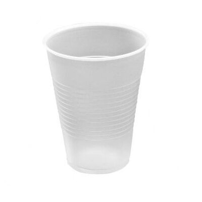 9 oz Conex Translucent Plastic Cold Cups 100/Pack DCC9N25
