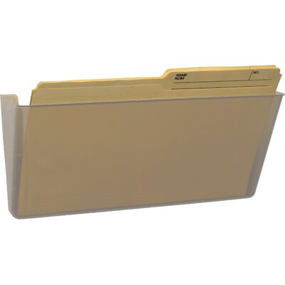 Unbreakable Legal Wall File Color: Clear