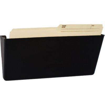 Unbreakable Legal Wall File Color: Black