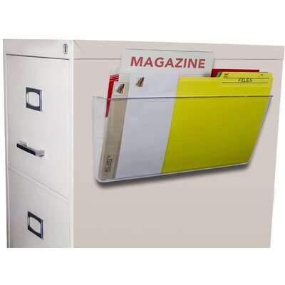 Unbreakable Magnetic Wall File Color: Clear
