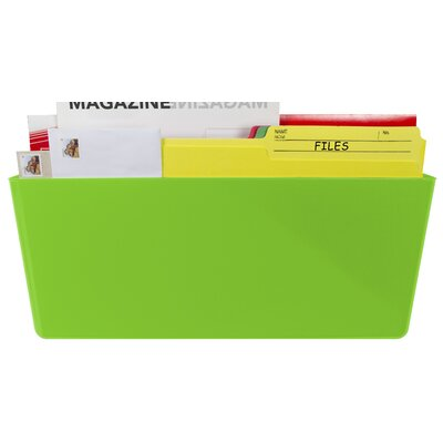 Magnetic Wall Pocket Color: Green