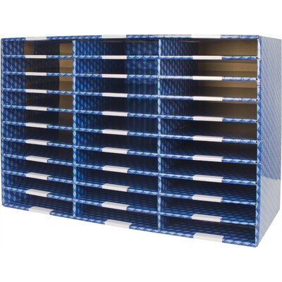 30 Compartment Corrugated Mailroom Sorter