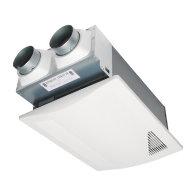 WhisperComfort� Spot ERV Ceiling Insert Ventilator with Balanced Ventilation and Patent-Pending Capillary Core