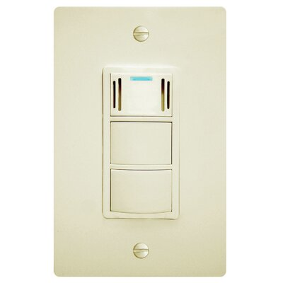 WhisperControl Condensation Sensor Three Function Switch Finish: Light Almond