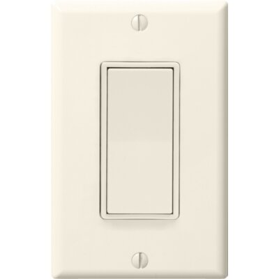 WhisperControl One Function Switch Finish: Light Almond