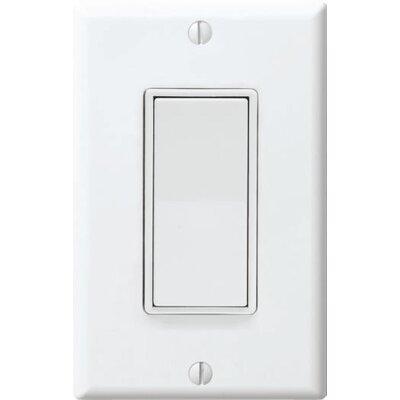 WhisperControl One Function Switch Finish: White