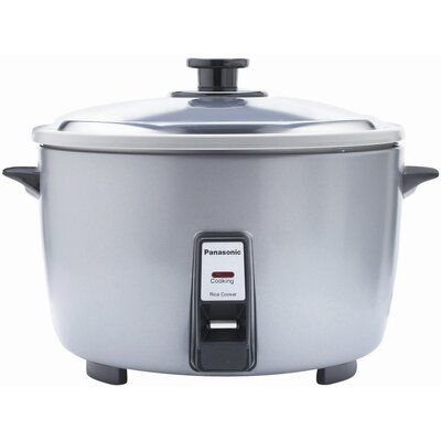 Panasonic Large Capacity Automatic Rice Cooker SR-42FZ - 1.55 kW - 1.44 gal - Silver 276883353