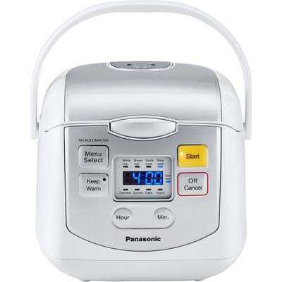8-Cup Microcomputer Controlled Rice Cooker SR-ZC075W
