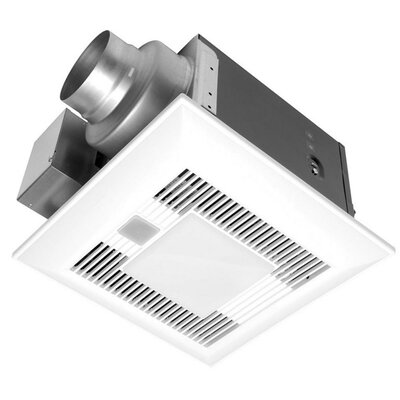 WhisperSense 110 CFM Energy Star Bathroom Fan with Light