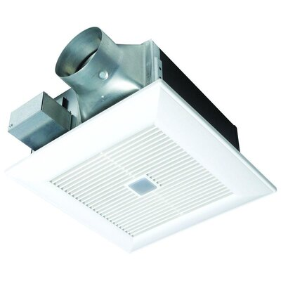 WhisperFit�EZ Energy Star Bathroom Fan with SmartAction�Motion Sensor
