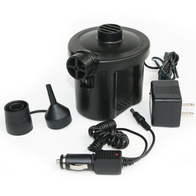 Image of Pure Comfort Electric Air Pump with Car Power Adapter (6013ACP)