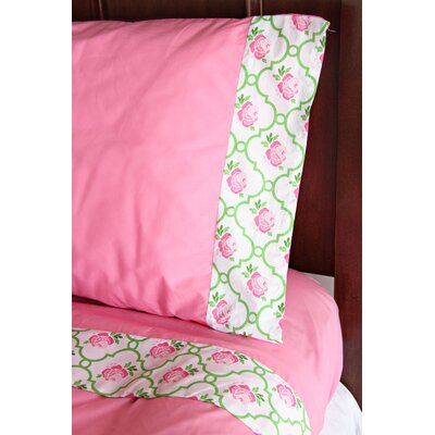 Caden Lane Classic Pink Full/Twin Sheet Set | Wayfair