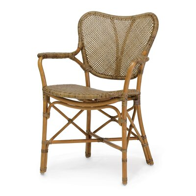 Jordan Arm Chair Finish: Honey Brown