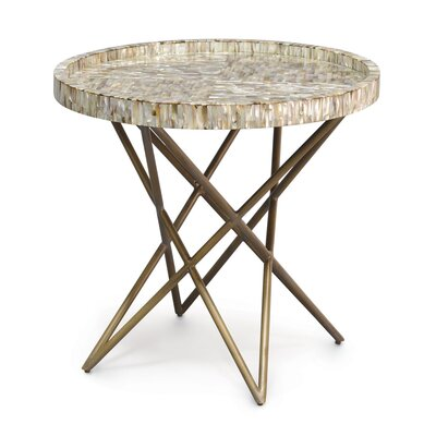 Spence Shell End Table