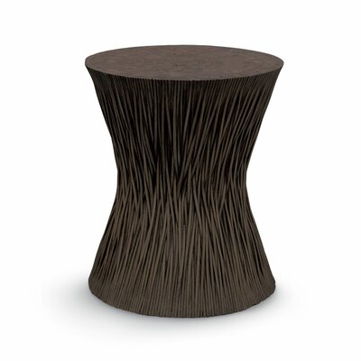 Vine Hourglass End Table