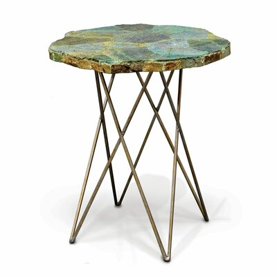 Malachite End Table