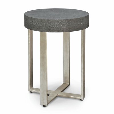 Porter Faux Shagreen End Table